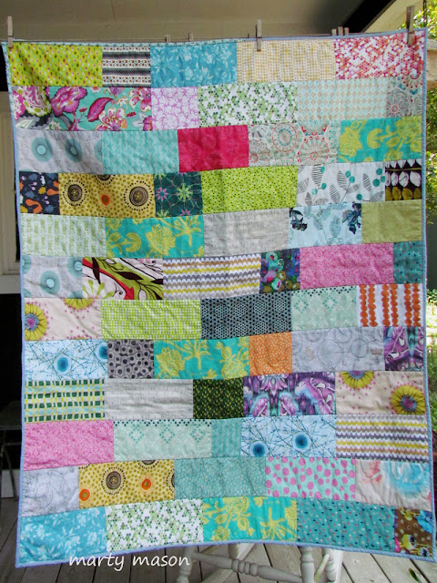 quilt as you go kid's quilt :  a project for community service
