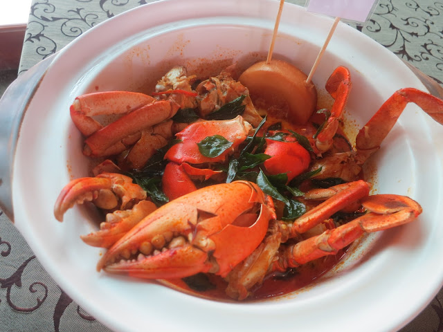 Indonesian Claypot Curry Crab