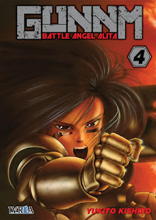 GUNNM (BATTLE ANGEL ALITA) #4