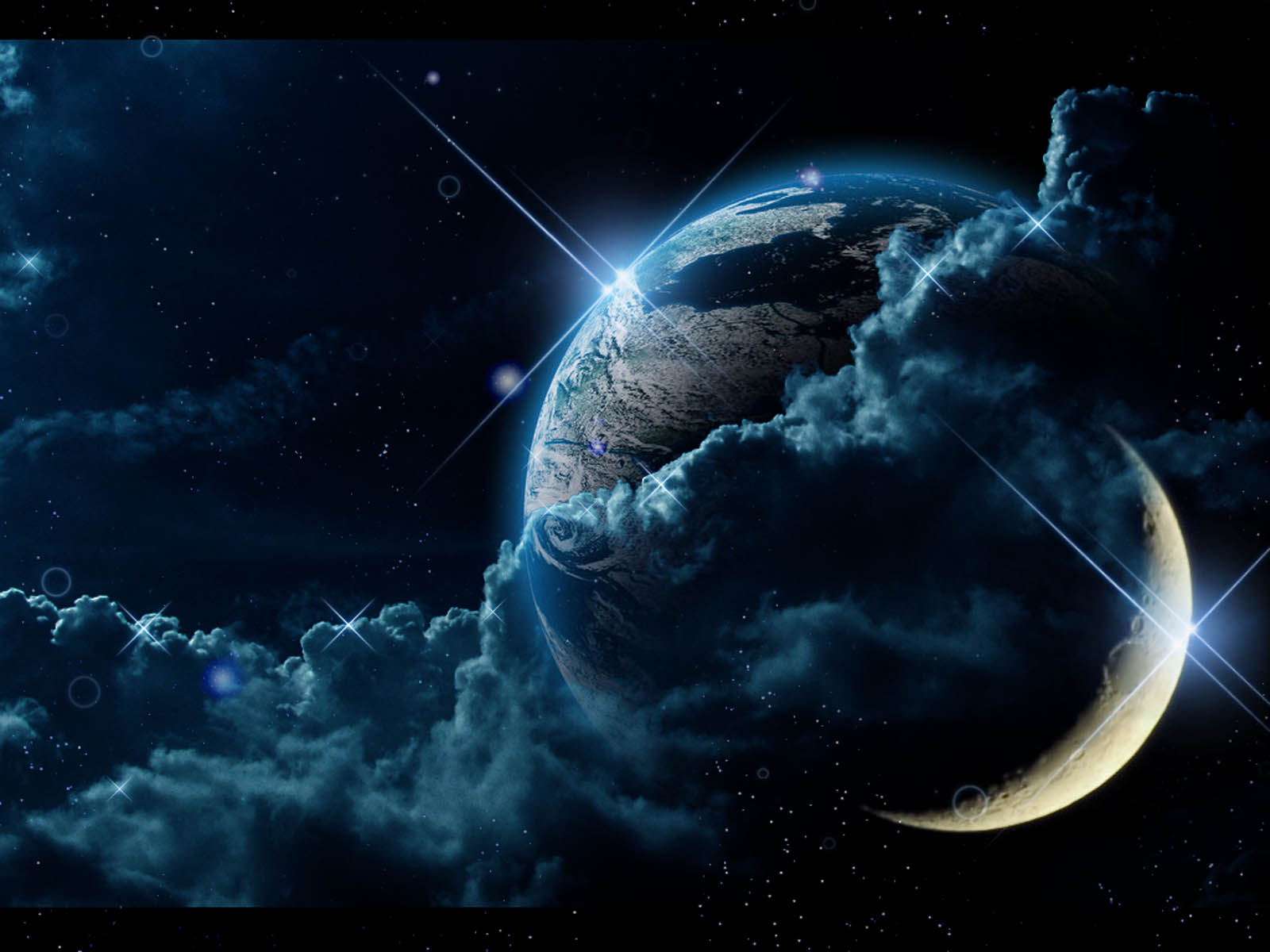 Beautiful 3d Love Wallpapers Wallpapers Moon Fantasy Wallpapers