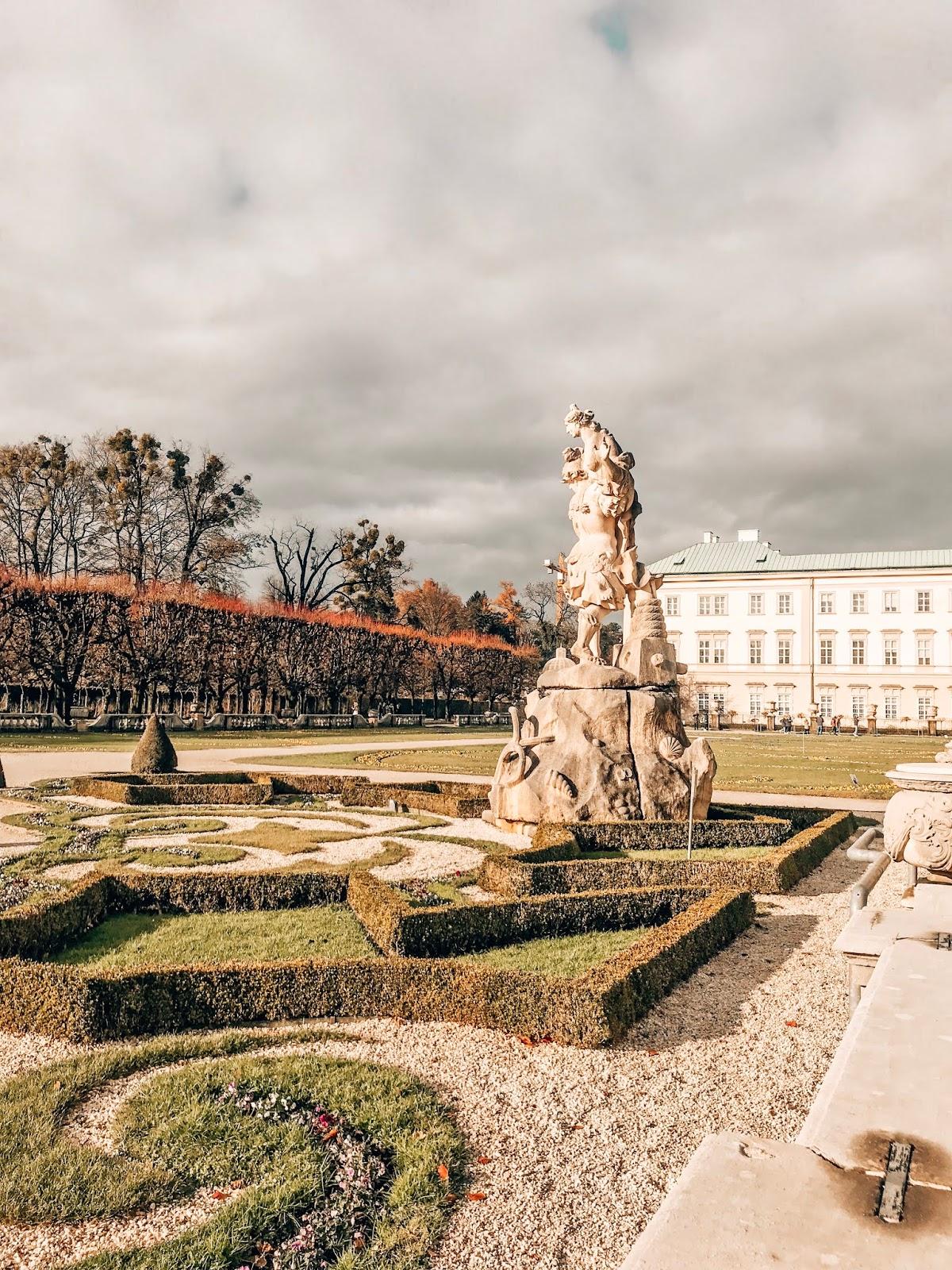 Salzburg Mirabell garden vrtovi