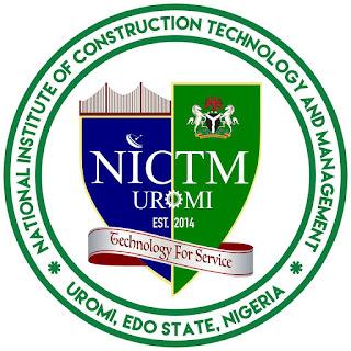 NICTM Uromi Post-UTME Screening Form 2020/2021