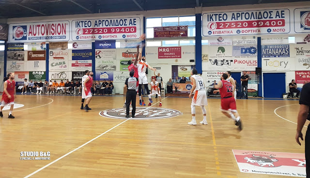 Σπουδαία νίκη για τον Οίακα Ναυπλίου με 82 - 74 το Παγκράτι