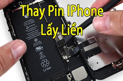 Thay pin iphone 5s chính hãng hãng tại Maxmobile