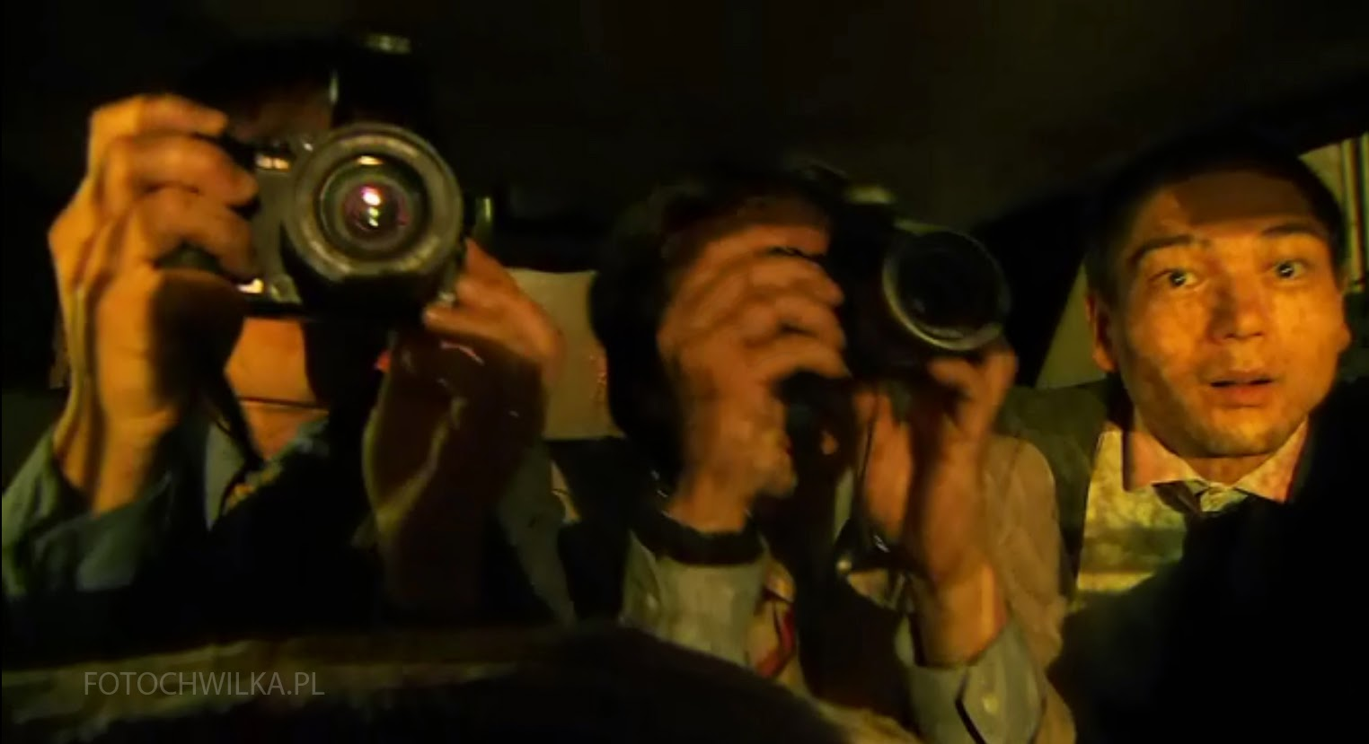 Rezerwat. Kadr z filmu. Chińczyki.