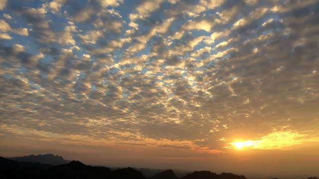 赤崁頂夕陽
