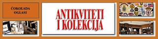 * ANTIKVITETI I KOLEKCIJE - ČOKOLADA OGLASI