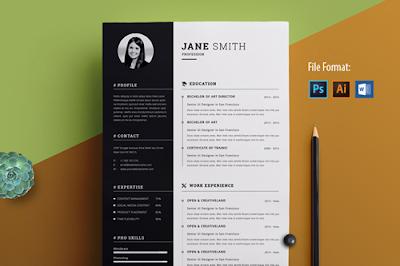 Template-CV-Simple-Kreatif