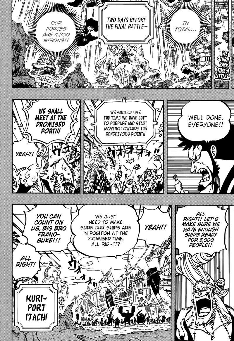 One Piece Manga Chapter 959 - Image 002