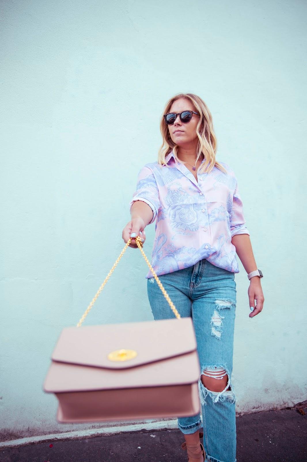 Fashion | My Summer Staple -  Mom Jeans - Rachel Emily Blog