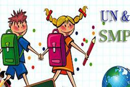 Mata Pelajaran UN dan USBN SMP/MTs