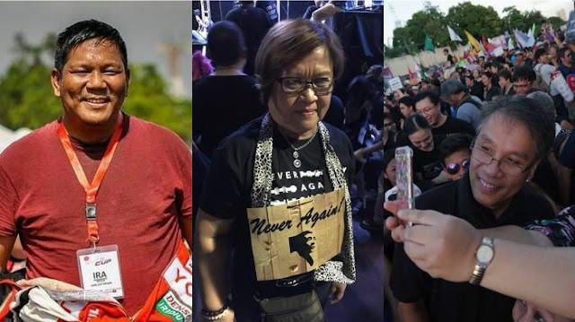 """Journalist Ira Panganiban on De Lima And Roxas at Anti-Marcos Rally: """"Sana Hindi Nasira Ang Mensahe Ng Pagkilos Dahil Sa Kasakiman Ng Dalawang Ito Sa Kapangyarihan."""""""