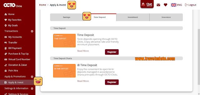Cara Mudah Membuka Deposito Di CIMB Niaga syariah, deposito, tutorial membuat deposito di bank cimb niaga syariah, pengalaman deposito di OCTOCLICKS