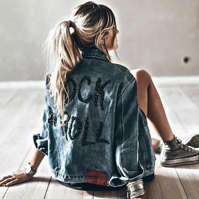 Chaqueta jeans personalizada