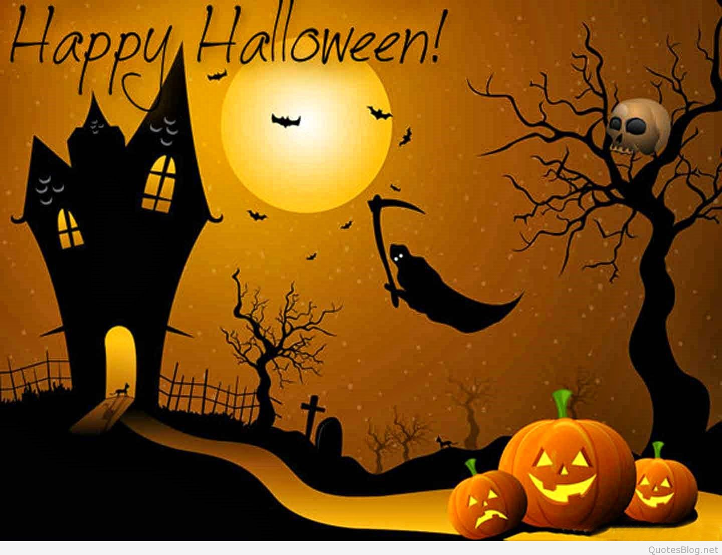 Halloween day 2016 wishes quotes sms message cards and hd wallpapers m4hsunfo
