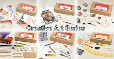 produk creative art series faber-castell yang mendukung kegiatan di rumah saja