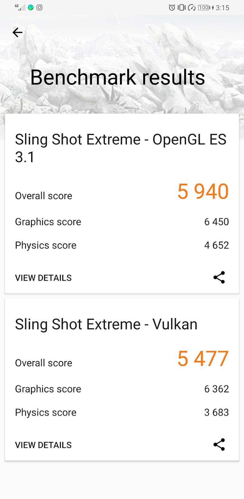 3DMark Slingshot Extreme