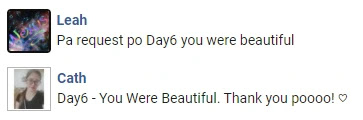 You Were Beautiful (예뻤어) - Day6 Request