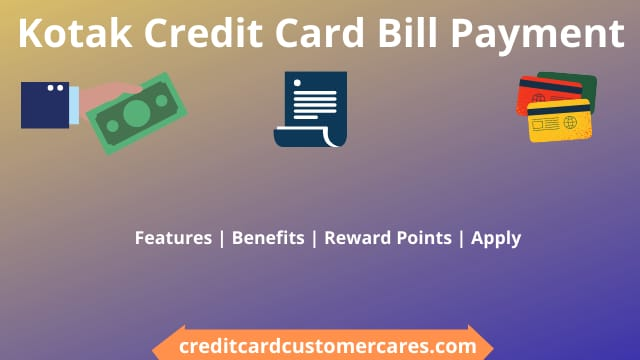 Kotak Credit Card Bill Payment
