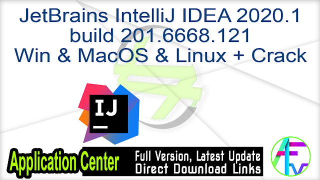 JetBrains IntelliJ IDEA Ultimate 2018.2.6 + Crack