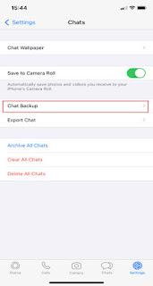 Cara mematikan backup WhatsApp