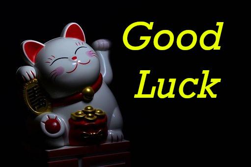 Good Luck,
