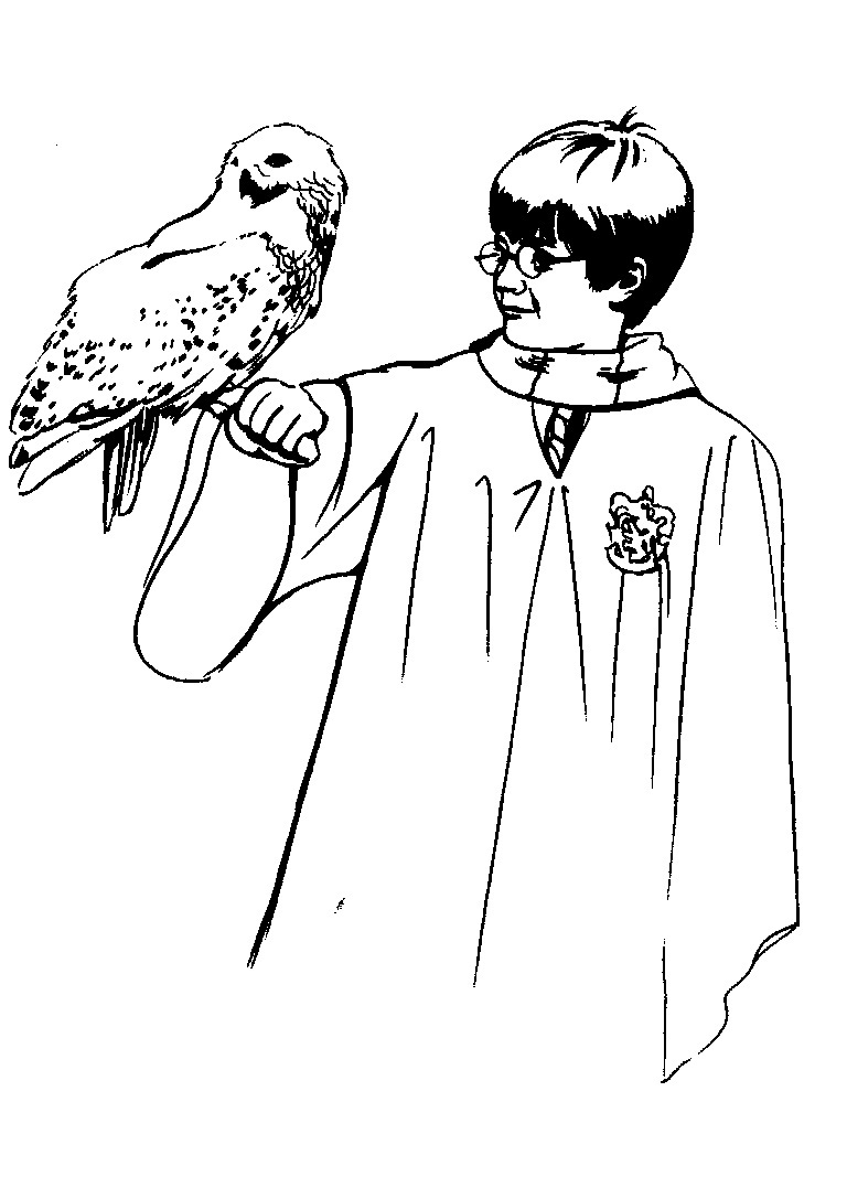 Kostenlose Malvorlagen Harry Potter Ausmalbilder