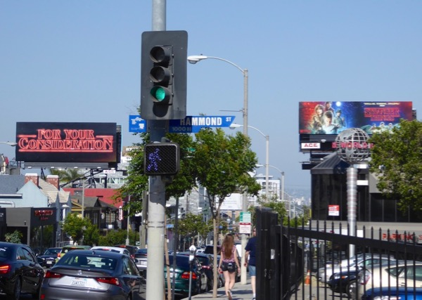 Stranger Things For Your Consideration 2017 Emmy billboards