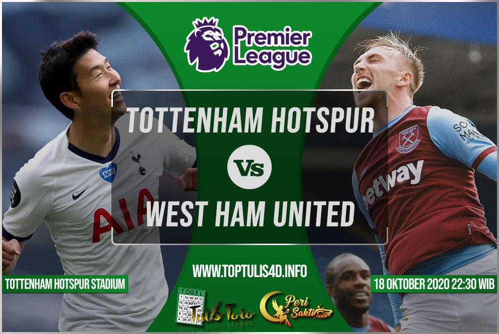 Prediksi Tottenham Hotspur vs West Ham United 18 Oktober 2020