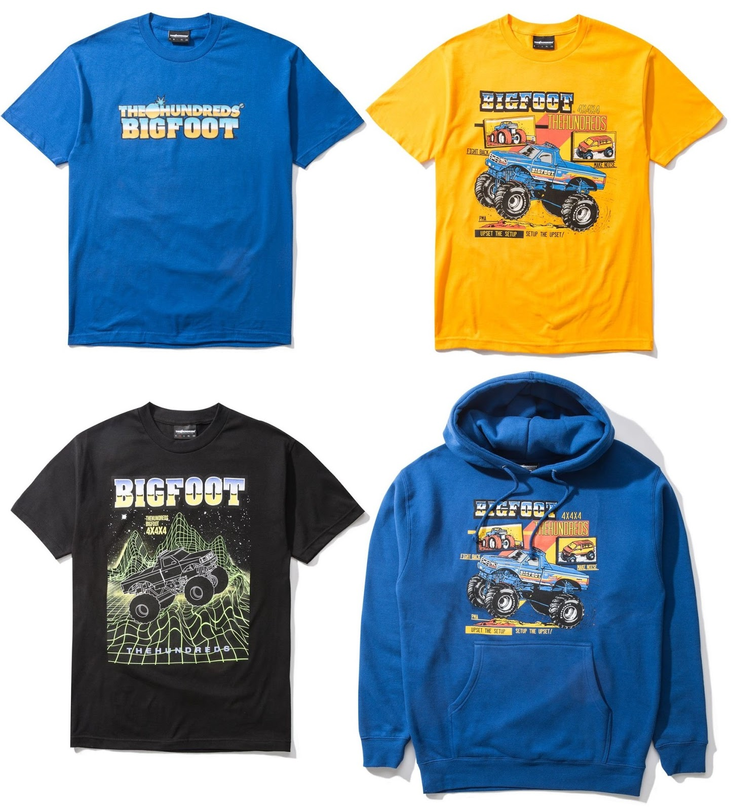Wholesale The Blot Says: The Hundreds x BIGFOOT The Original Monster Truck  supplier
