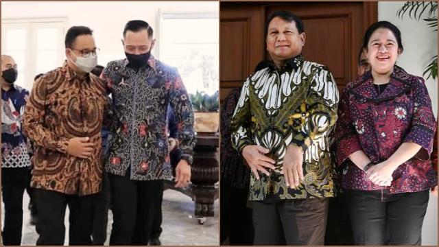 M Qodari: Jika Prabowo-Puan Jadi Paslon, Lawannya Kemungkinan Anies Baswedan