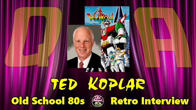 Interview with Ted Koplar who brought 'Voltron' to America