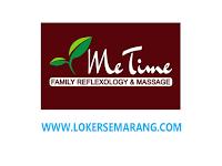 Lowongan Therapist Refleksi di Me Time Family Refleksi Semarang