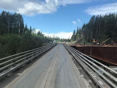 Construction on the Bridge