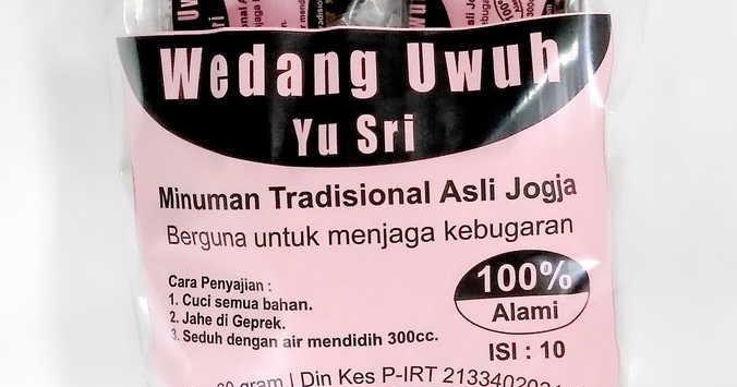 Wedang Uwuh Yu Sri (Isi 10pcs) Minuman Tradisional