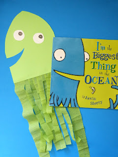 https://www.teacherspayteachers.com/Product/Activities-for-the-book-Im-The-Biggest-Thing-in-the-Ocean-math-science-craft-2811307