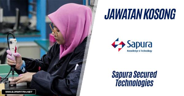 jawatan kosong SAPURA 2020