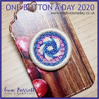 One Button a Day by Gina Barrett - Day 34: Marion