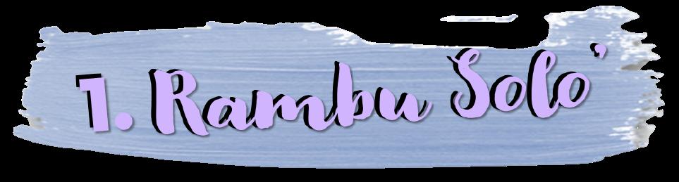 subheading rambu solo