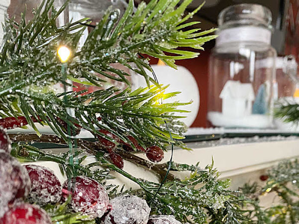 How To Make A Simple Cranberry Garland
