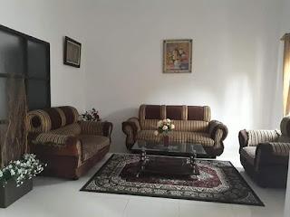 Ruang Tamu - Rumah Second Murah Di Tasbi 1 Medan - Fully Furnished - Mulus Dan Terawat