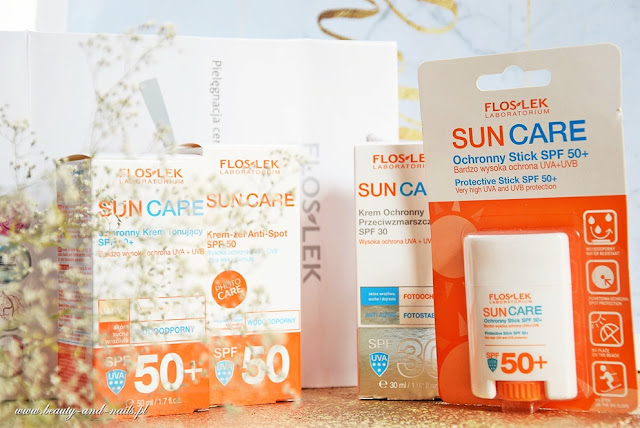 FLOSLEK Sun Care - ochrona przeciwsłoneczna.