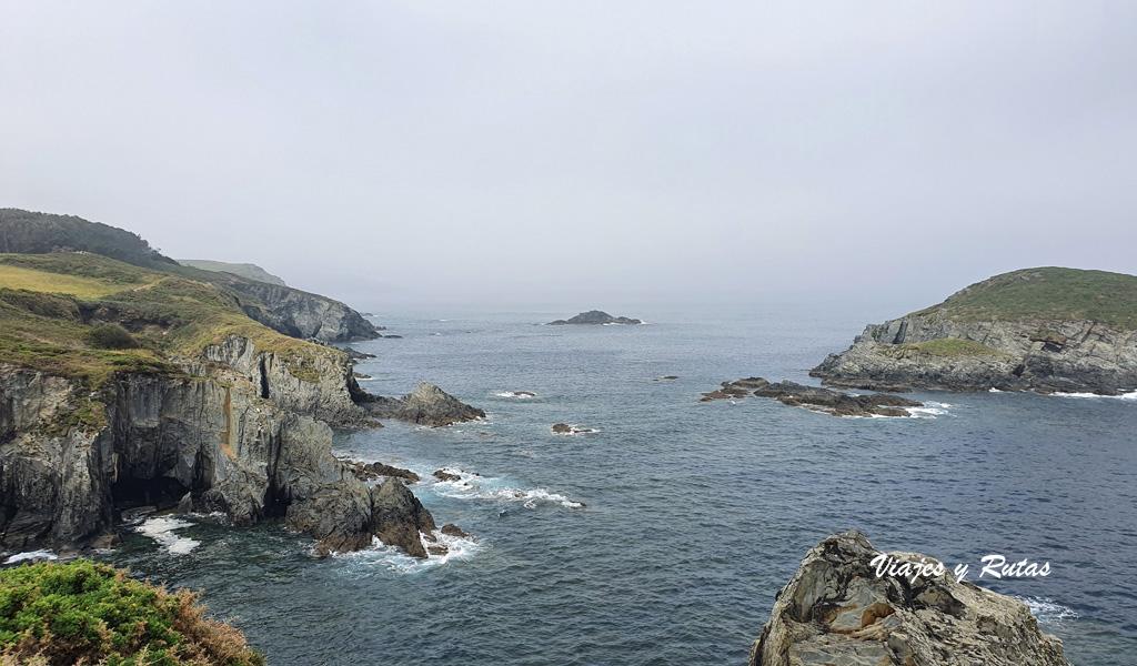 Isla de Vega, Senda costera Naviega, Asturias