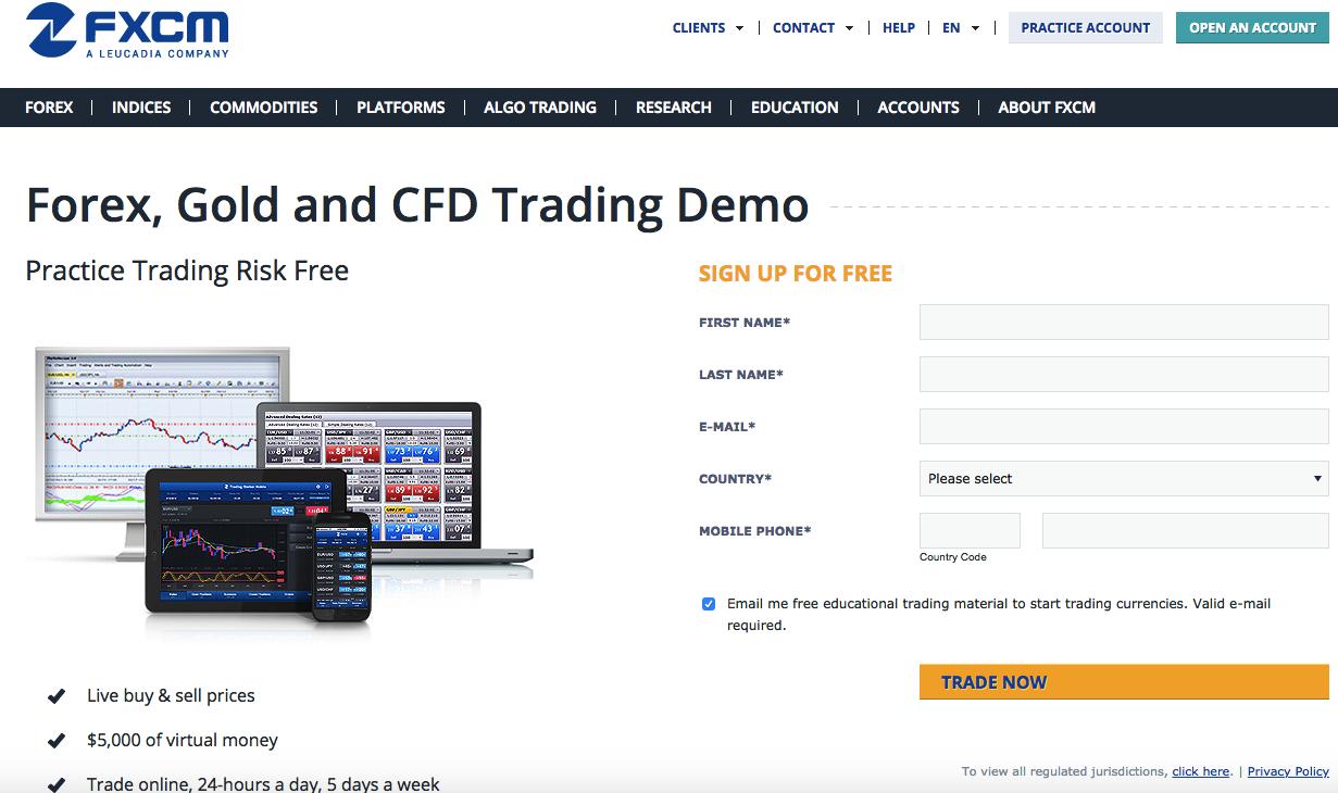Belajar forex trading demo
