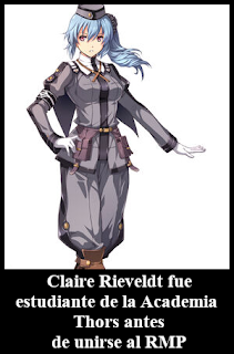 Capitana Claire Rieveldt Academia Thors Trails of Cold Steel