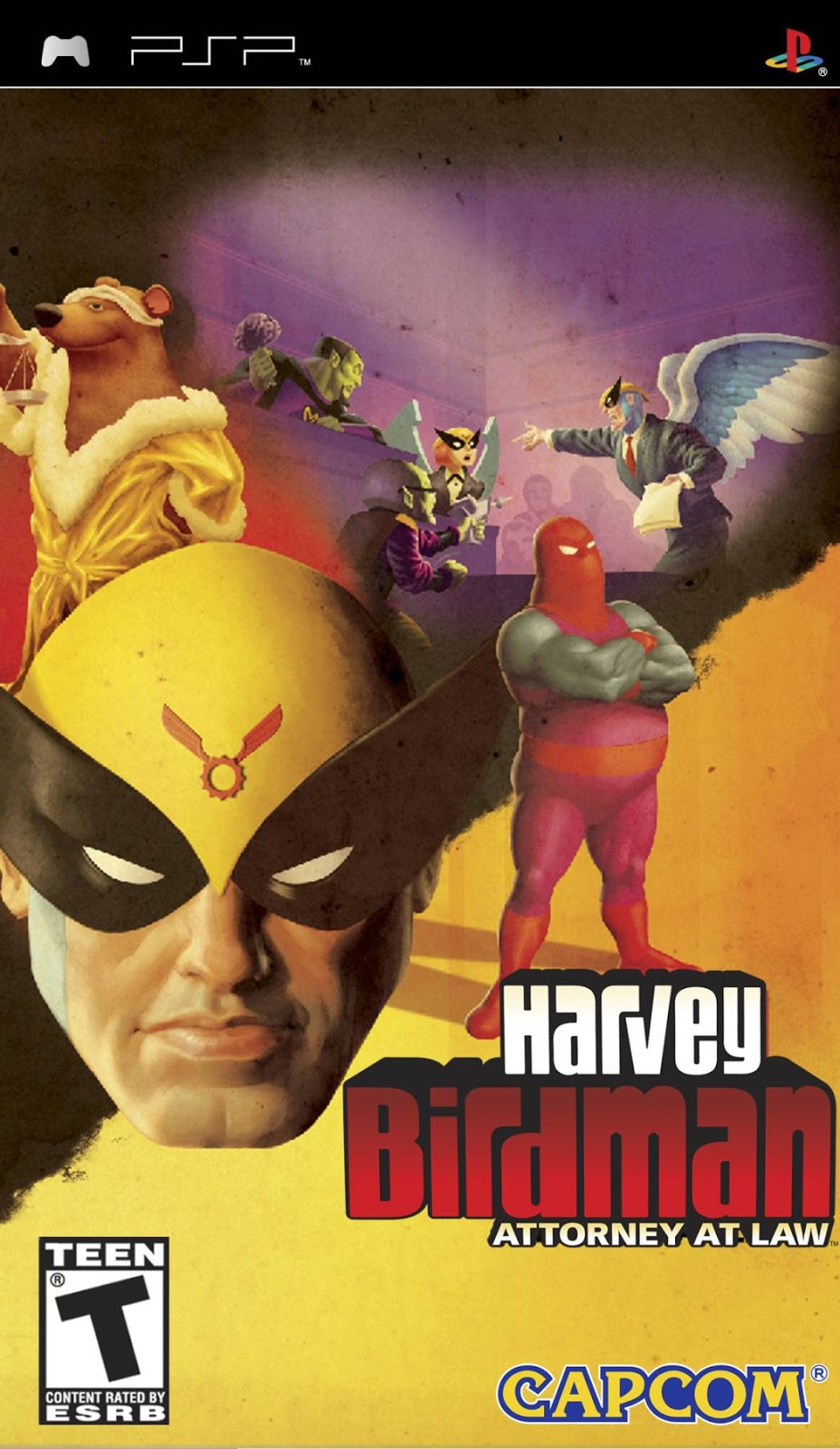 Harvey Birdman - Attorney at Law - PSP - ISO Download