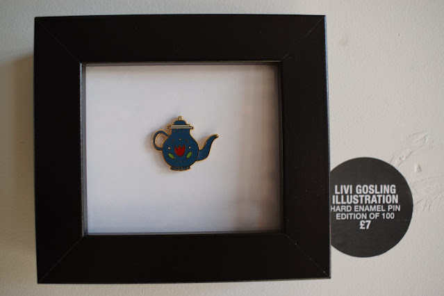 Northern Craft Summer Fair pin drop Livi Gosling pin