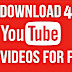 4kFinder Video Downloader: Best YouTube Video Downloader