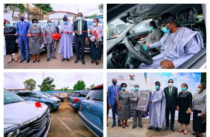 Sanwo-Olu splashes 51 SUVs, 8 houses on judges