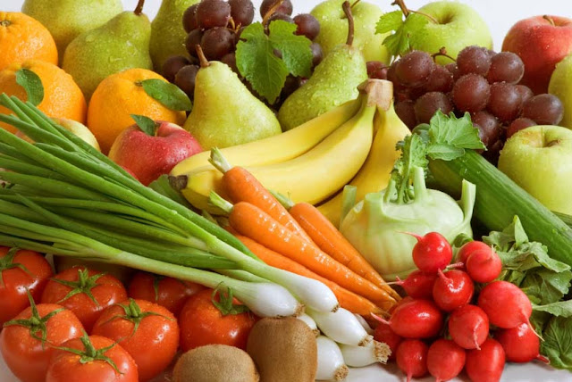 Vegetables and fruit for blood thinners